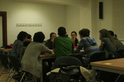 Grupo trabajando