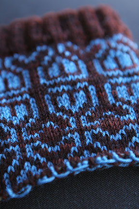 Color Sock in Progress