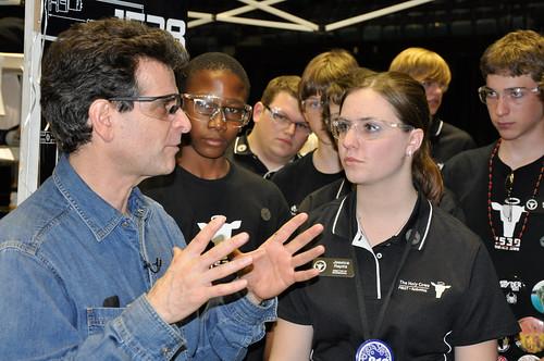 FRC San Diego - Dean Kamen & Team 1538