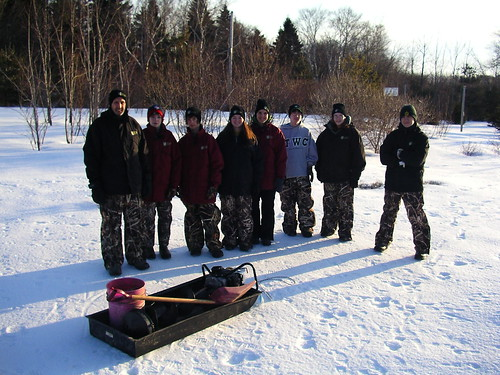 Wetheads assisting with the Winter Program in 2009