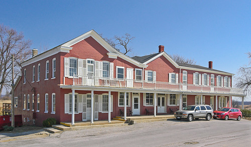 Wittmond Hotel, in Brussels, Calhoun County, Illinois, USA