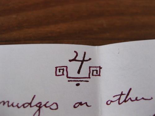 Letter doodle page 4