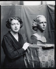 Margaret French Cresson, American sculptor, 18...
