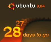 Ubuntu 9.04 Countdown Banner Option 1
