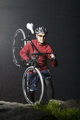 Sport Portrait with Nuel's new cross bike