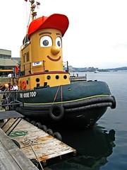 Theodore Too (Light Collector) Tags: canada bigeyes eyes novascotia cartoon redhat tugboat halifax storybook odt workboat theodoretoo