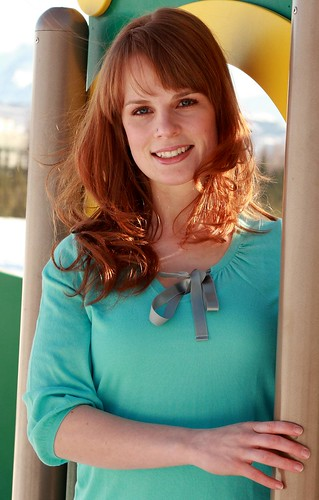 Nice portrait of Jennifer, a lovely Alaskan redhead by Alaskan Dude