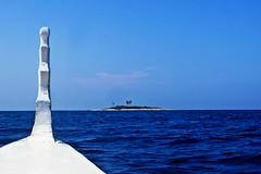 island destination (jobarracuda) Tags: sea island lumix boat philippines bluesky isla dagat pilipinas pangasinan banca boatride bangka fz50 dasol panasoniclumixdmcfz50 jobarracuda jojopensica tambobong colibraisland