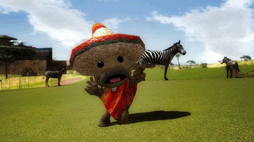 LittleBigPlanet in Hot Shots Golf