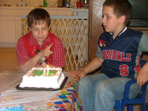 10th birthday. Kaleb. Kyle. boys