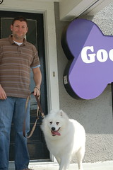 Brian and Alba at Good Dogs