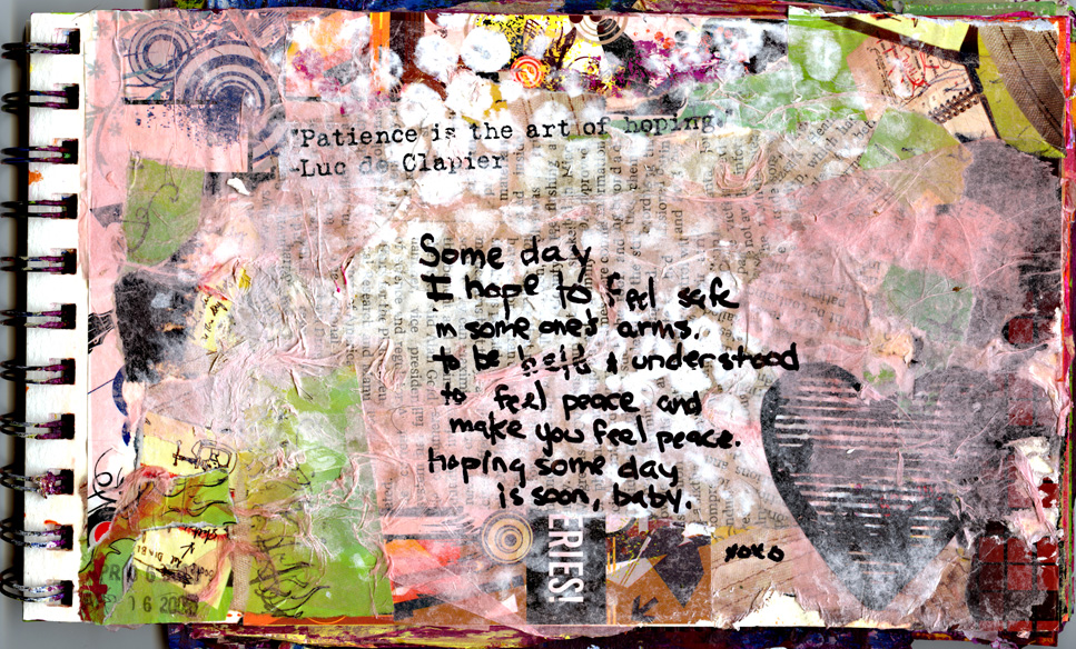 040409 - Art Journal Page