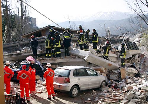 L'Aquila Earthquake Italy
