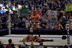 Triple H defeats Randy Orton