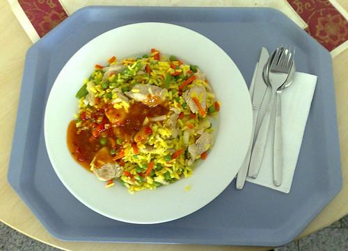 Puten-Curry-Pfanne