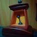 Hidden Mickey on metronome inside Mickey's House