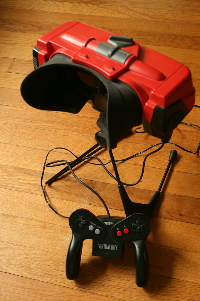 The cool, unfortunately-named, Nintendo Virtual Boy
