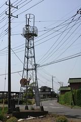 谷中の火の見櫓(川越市)