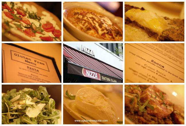 gluten free restaurant nyc nizza menu montage