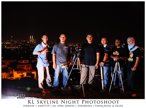 KL Skyline Photoshoot Group Shot