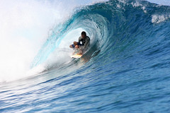 Surfing in the tube at Teahupoo, Tahiti. (cookiesound) Tags: ocean life trip travel vacation people holiday man men travelling sports water sport canon photography see reisen surf waves break action surfer urlaub tube barrel wave surfing canoneos20d surfboard tahiti canoneos surfphoto extremesport poeple reise bigwaves bigwavesurfing sd sportaction frenchpolynesia travelphotography traveldiary travelphotos reisefotografie teahupoo waveriding hugewaves surfphotography reisetagebuch surfculture surfphotographer tubesurfing reisebericht wavesurfing wavesurfer surfingphotography surfingphoto travellifestyle cookiesound peoplesurfing surfingtahiti soudsea surfpicture nisamaier surfingteahupoo ulrikemaier surferteahupoo surfingpicture travellingtahiti travellingfrenchpolynesia tubesurfer