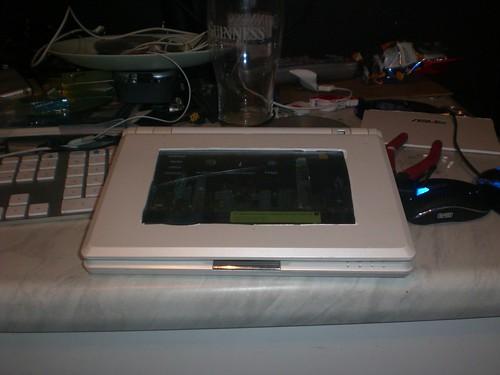 ASUS Eee PC 701, Touchscreen, Hack