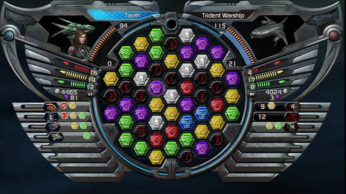 Puzzle Quest Galactrix screenshot 2