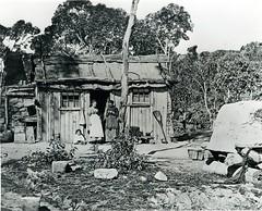 history children women knitting australia huts bark miners lithgow valeofclwydd