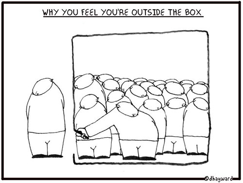 boxed in or boxed out