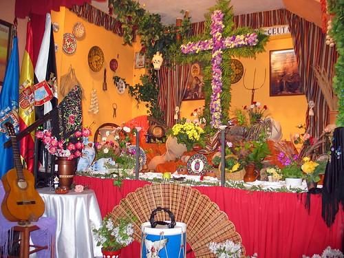 cruz de mayo ganadora, Casa de Ceuta en Melilla, cruz de Mayo