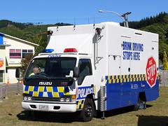 New Zealand Police Booze Bus