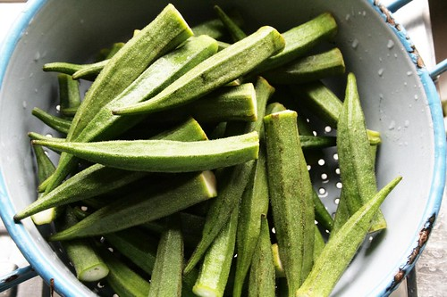 okra for khoresht