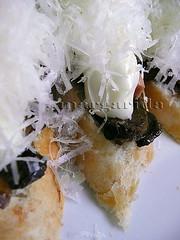 el queso rallado