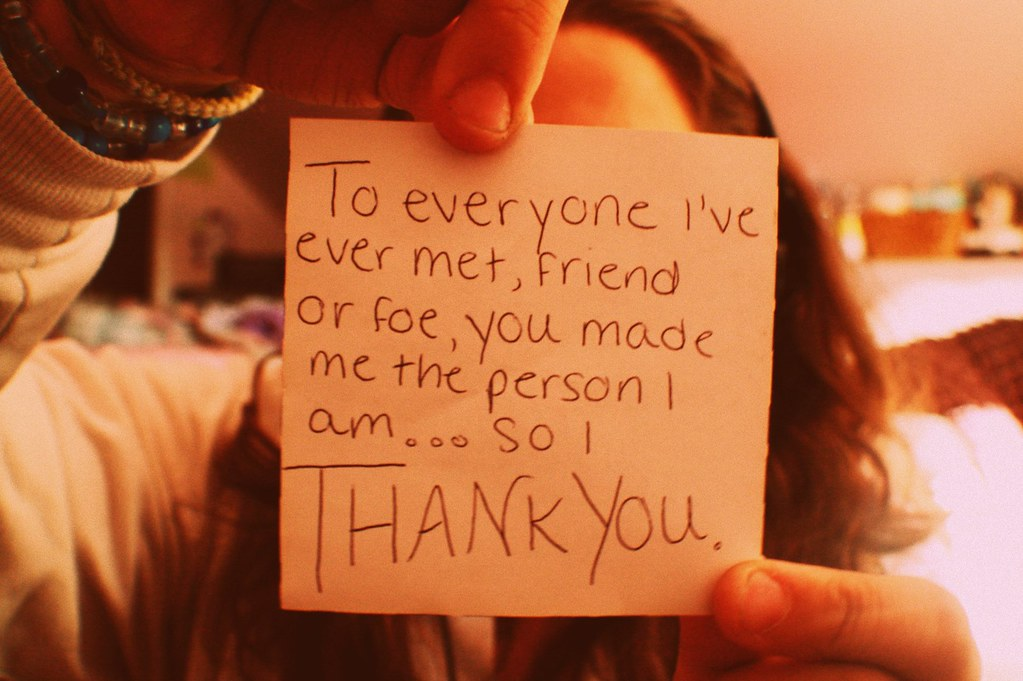139/365: Thank You