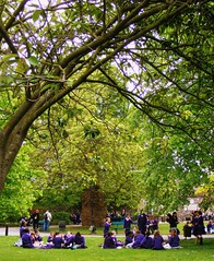 """""""This England."""" (* RICHARD M (Over 6 million views)) Tags: life travel trees england green tourism kent europe britain candid cities happiness canterbury sharing canterburycathedral"""