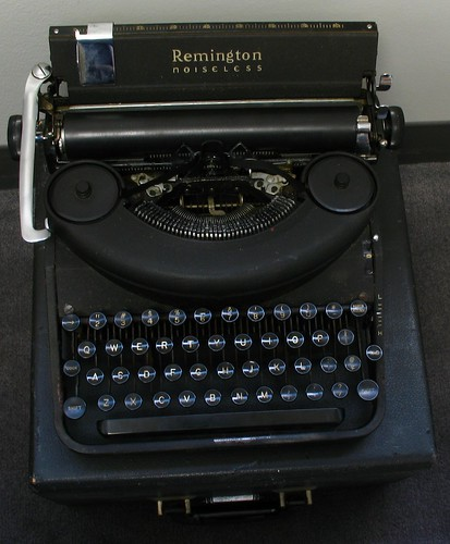 "Remington Noiseless Model Seven, c. 1946 aka ""Lucky"""