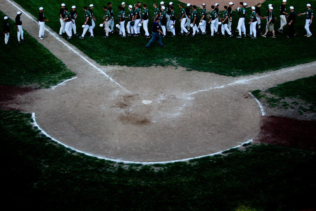 Baseball from 50 feet up