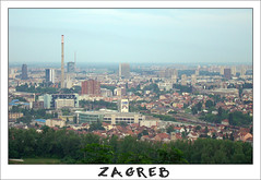 Untitled-1 copy (kaktus186) Tags: city sky buildings landscape town smog skyscrapers postcard panoramic zagreb chimneys cibona toplana