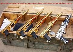 pistolas. rifles