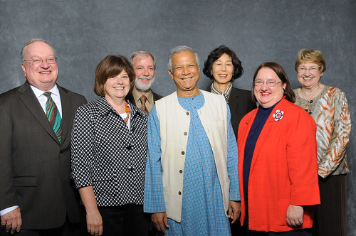 NAFSA Award Winners with Muhammad Yunus