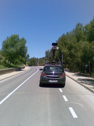 google street view sighting often causes public interest, another spotting