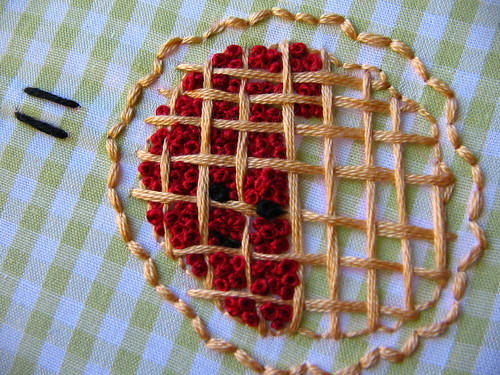 more french knot cherries
