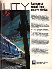 "Reliability: the ""Dash-2"" Series (mod as hell) Tags: gm 1975 locomotive lagrange emd dash2 electromotivedivision trainsmagazine 1970sads"