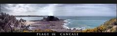 Panorama de la plage de Cancale (PSI French West Indies) Tags: panorama bretagne plage hdr hdri cancale ileetvilaine leduguesclinloferr