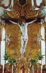 Wundertätiges Kreuz in der Seekirche, Seefeld, Tirol