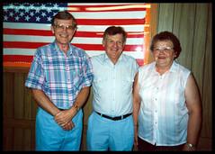 1989 Jul 01 Reunion - Sid, Vernon and Elinor