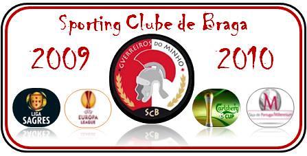 Sporting Clube de Braga  época 2009 - 2010