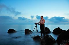 Antonio J. Muoz (Carlos J. Teruel) Tags: longexposure espaa mar nikon nightshot paisaje murcia reflejo nocturna nocturnas cartagena 2009 d300 18200vr bluesail colorphotoaward platinumheartaward xaviersam