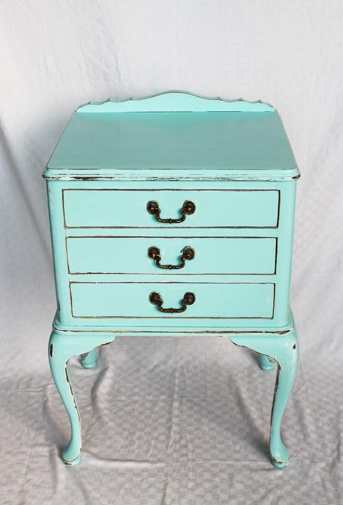 Tiffany-blue chest