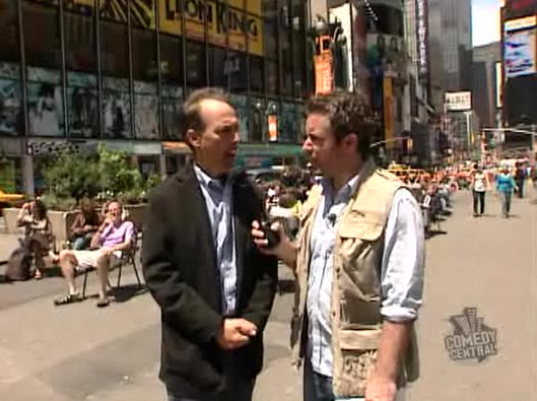Jason Jones Interviews me for The Daily Show